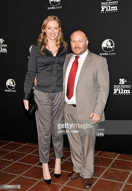Producer of 'The Kings Speech' Gareth Unwin and guest attend the 26th Annual Santa Barbara International Fim Festival at the Arlington Theater on...