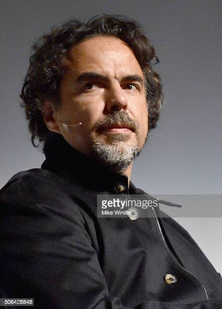 Producer of 'The Revenant' Alejandro Gonzalez Inarritu speaks onstage during the 2016 Producers Guild Awards Nominees Breakfast at The Montalban on...