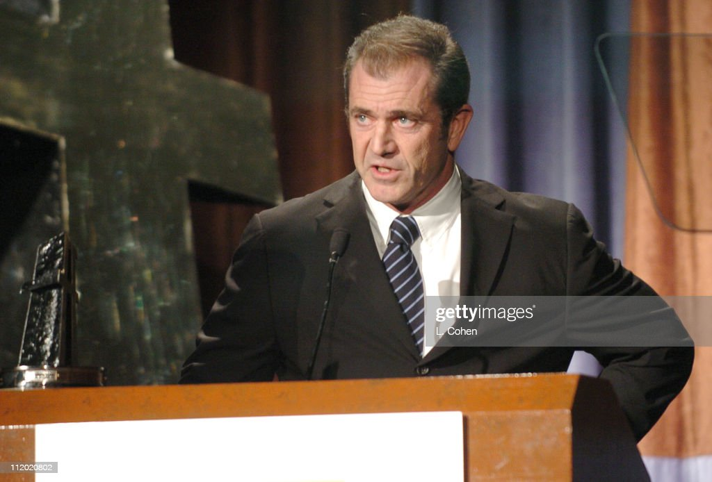 Producer of the Year Mel Gibson during The 8th Annual Hollywood Film Festival Awards Ceremony - Show at The Beverly Hilton Hotel in Beverly Hills, California, United States.