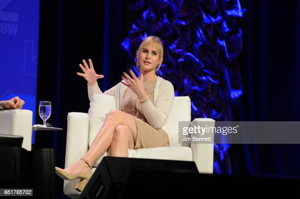 Producer of Transparent Zachary Drucker participates in a panel discussion on transgender justice at the SxSW Interactive Festival at the Austin...