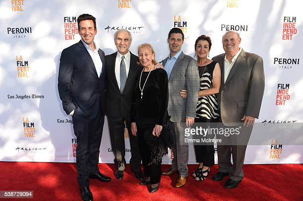 Producer Orien Richman actor Peter Mark Richman actress Helen Richman producer Adam Tenenbaum Roslyn Tenenbaum and Jerry Tenenbaum attend the...