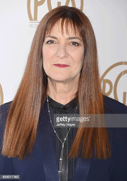 Producer Osnat Shurer arrives at the 28th Annual Producers Guild Awards at The Beverly Hilton Hotel on January 28 2017 in Beverly Hills California