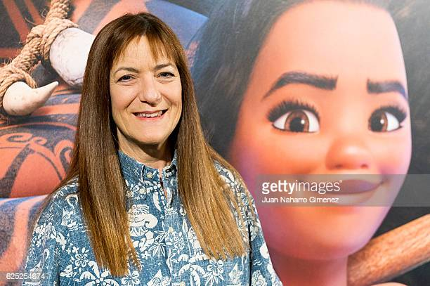Producer Osnat Shurer attends 'Vaiana' photocall at Santo Mauro Hotel on November 23 2016 in Madrid Spain