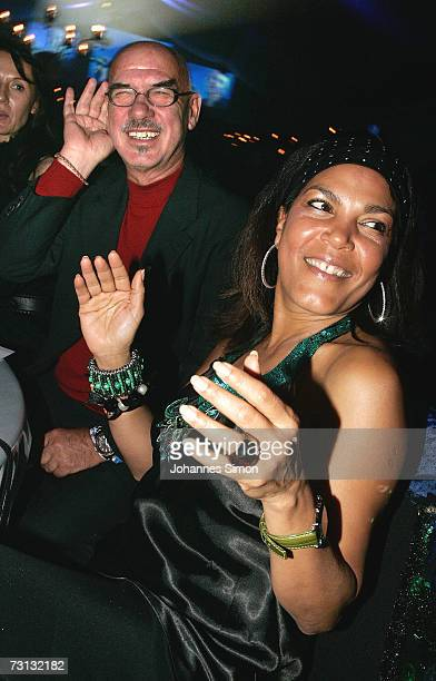 Producer Otto Retzer and his wife Shirley attend the Kitzrace Party January 27 in Kitzbuehel Austria