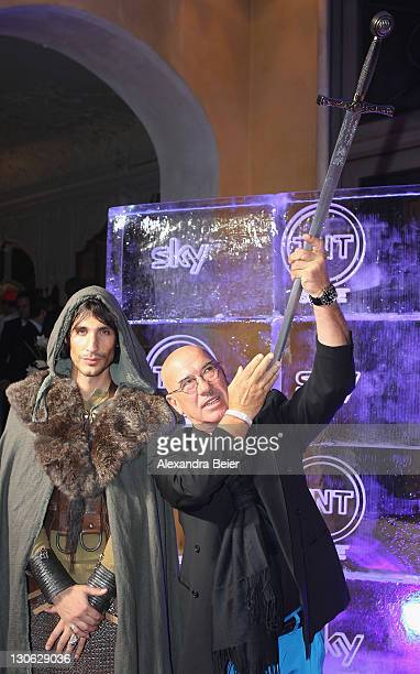 Producer Otto W. Retzer attends 'Games of Thrones' Preview Event of TNT Serie and Sky at Hotel Bayerischer Hof on October 27, 2011 in Munich,...