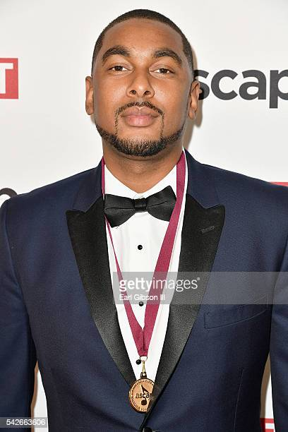 Producer Ousala 'Prestley Snipes' Aleem attends the 2016 ASCAP Rhythm & Soul Awards at the Beverly Wilshire Four Seasons Hotel on June 23, 2016 in...