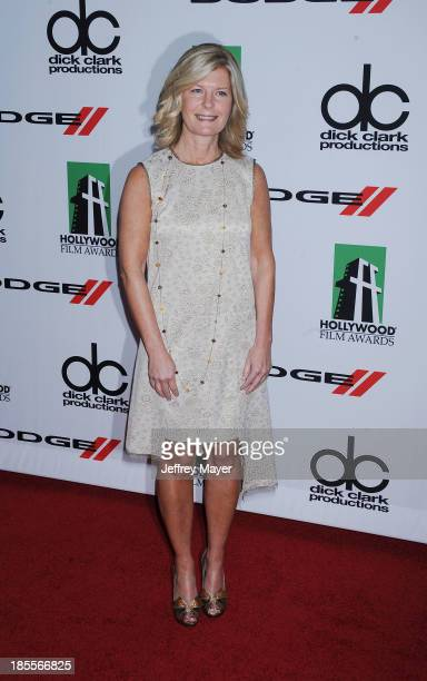Producer Pam Williams arrives at the 17th Annual Hollywood Film Awards at The Beverly Hilton Hotel on October 21 2013 in Beverly Hills California
