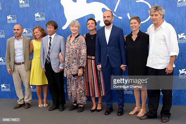 Producer Paola Malanga scientist Shin Kubota actress Marina Vlady directors Martina Parenti and Massimo D'Anolfi Sabina Scharer and Felix Rohner...