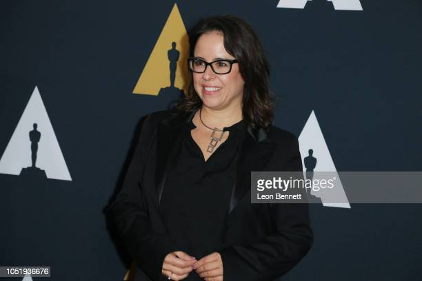 Producer Patricia Riggen attends 45th Student Academy Awards at Samuel Goldwyn Theater on October 11 2018 in Beverly Hills California