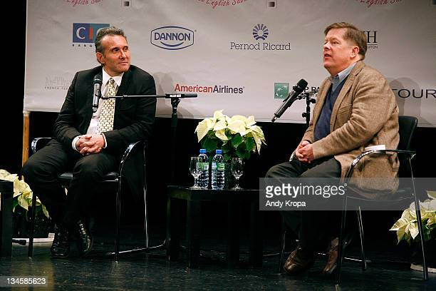 Producer Patrick Gimenez and film professor Jerry Carlson attend the premiere of ''RIF'' during the 2011 In French with English Subtitles film...