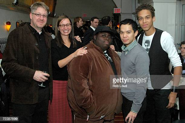 Producer Paul Mezey Maud Nadler of HBO actor Wallace Little actor Jon Norman Schneider and actor Jonan Everett attend the after party for the...