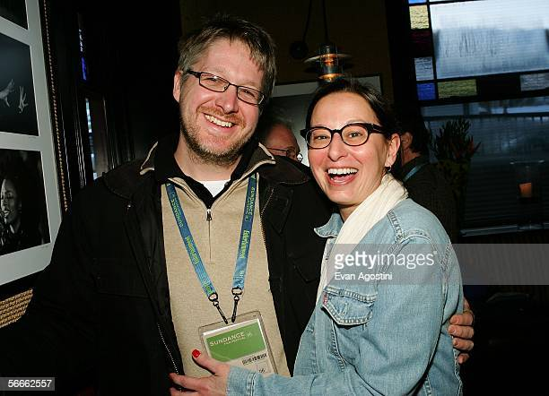 Producer Paul S Mezey and Maud Nadler vice president HBO Films attend the Picturehouse Party at Zoom restaurant during the 2006 Sundance Film...