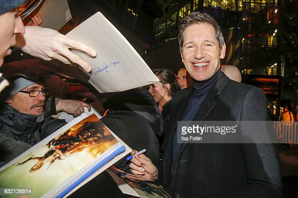 Producer Paul W S Anderson attend the Social Movie Night At 'Resident Evil The Final Chapter' premiere at CineStar on January 19 2017 in Berlin...