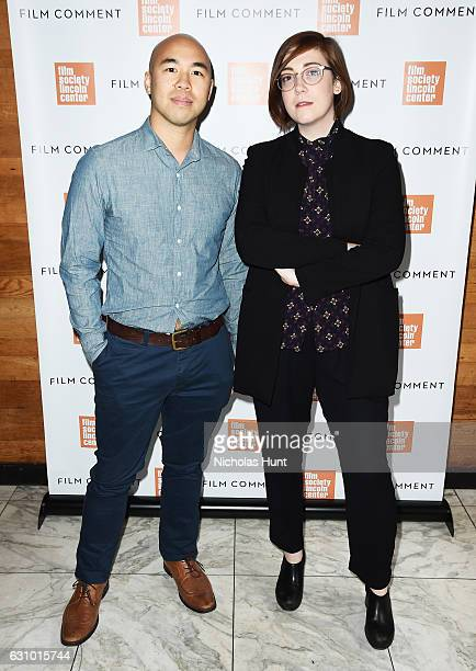 Producer Paul Yee and Director Anna Rose Holmer attends the 2016 Film Society Of Lincoln Center Film Comment Luncheon at Scarpetta on January 4 2017...