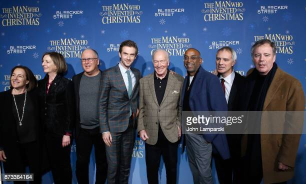 Producer Paula Mazur screenwriter Susan Coyne Robert Mickelson actors Dan Stevens and Christopher Plummer director Bharat Nalluri Ian Sharples and...