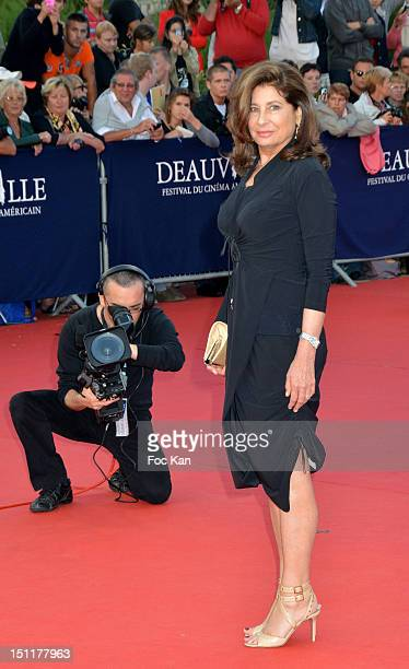 Producer Paula Wagner attends the 'Killer Joe' Premiere 38th Deauville American Film Festival at the CID on September 2 2012 Deauville France
