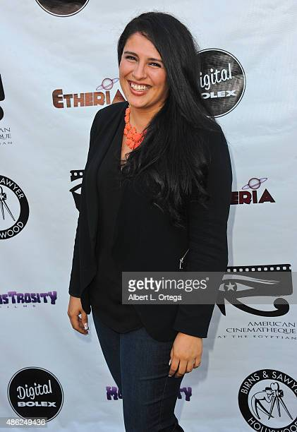 Producer Paulina Trujillo arrives for the Etheria Film Night 2015 held at American Cinematheque's Egyptian Theatre on June 13, 2015 in Hollywood,...