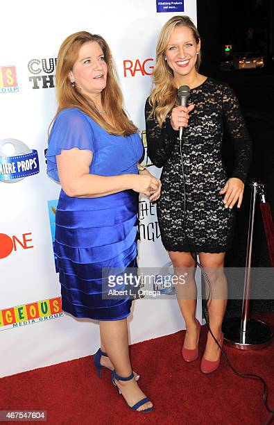 """Producer Peggy Lane O'Rourke and correspondent Ashley Anderson arrives for """"A War Is Coming... The Lost Kingdom"""" - Industry Gala held at Cupcake..."""