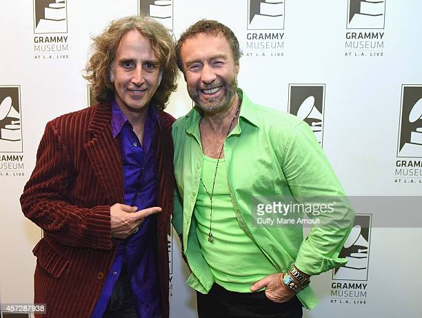 Producer Perry Margouleff and singer Paul Rodgers at Royal Sessions Paul Rodger's Memphis RB at The GRAMMY Museum on October 15 2014 in Los Angeles...