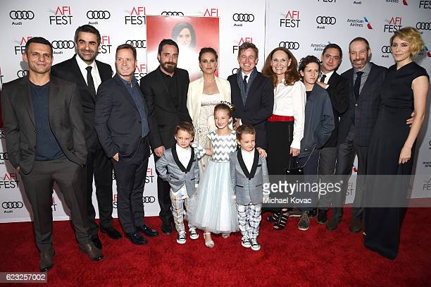 Producer Pete Shilaimon editor Sebastian Sepulveda producer Mickey Liddell director Pablo Larrain actor Aiden Weinberg actress Natalie Portman...