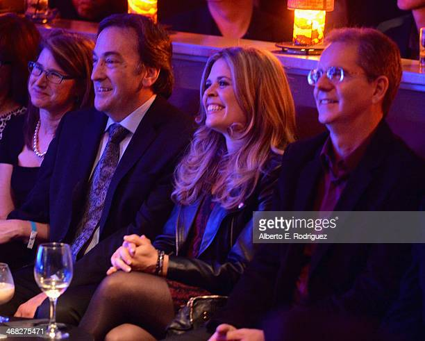 Producer Peter Del Vecho and directors Jennifer Lee and Chris Buck attend The Celebration Of The Music Of Disney's Frozen FOR THE FIRST TIME IN...