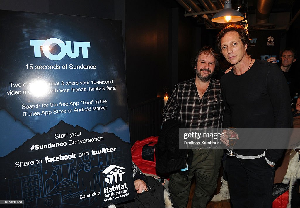 Producer Peter Jackson and actor William Fichtner attend Day