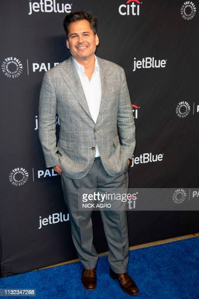 Producer Peter Lenkov arrives for the Paley Center for Media's 2019 PaleyFest 'Hawaii Five0' 'MacGyver' And 'Magnum PI' March 23 2019 at the Dolby...