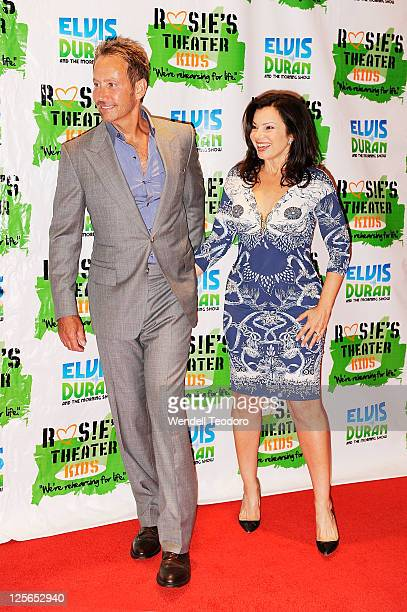 Producer Peter Marc Jacobson and Actress Fran Drescher attends Rosie's Building Dreams for Kids Gala at The New York Marriott Marquis on September 19...