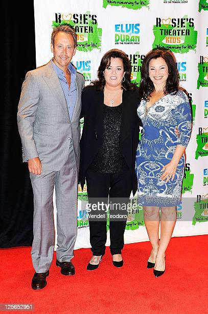 TV Producer Peter Marc Jacobson and Media Personality Rosie O'Donnell and Actress Fran Drescher attends Rosie's Building Dreams for Kids Gala at The...