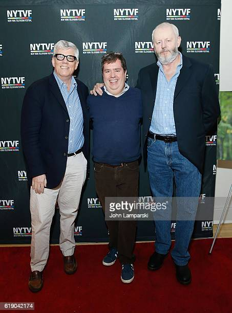 Producer Peter Tolan Terence Gray and David Morse attend Development Day Panels during the 12th Annual New York Television Festival at Helen Mills...
