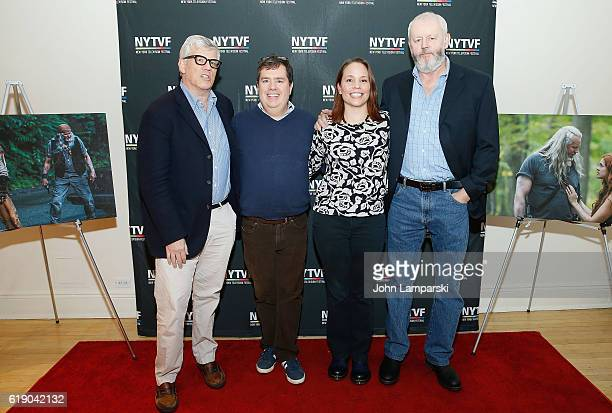 Producer Peter Tolan Terence Gray Kristen Baldwin and David Morse attend Development Day Panels during the 12th Annual New York Television Festival...