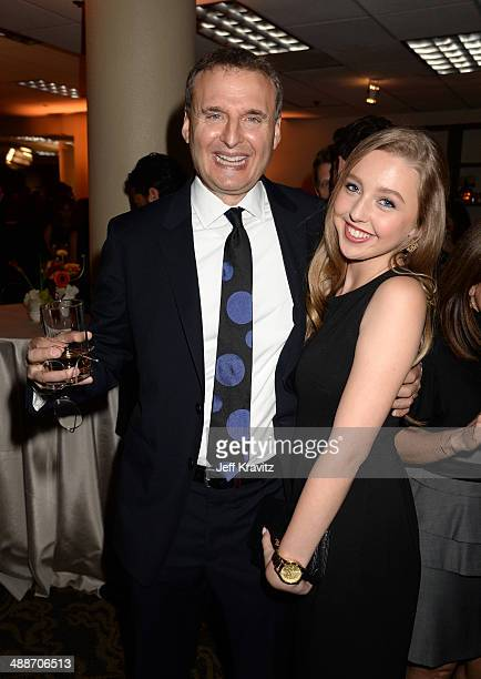 Producer Phil Rosenthal and actress Lily Rosenthal attend USC Shoah Foundation's 20th Anniversary Gala at the Hyatt Regency Century Plaza on May 7...