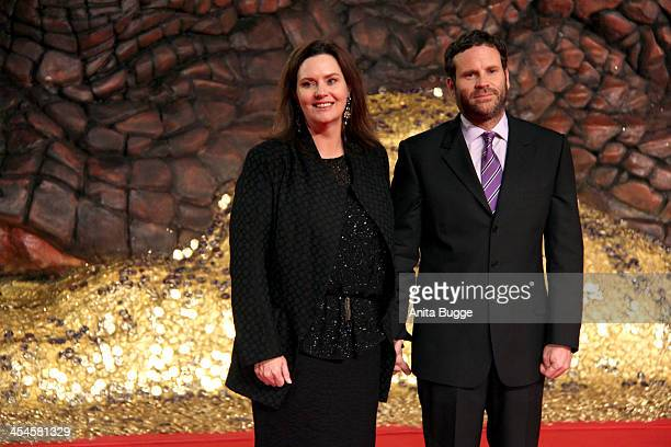 """Producer Philippa Boyens and guest attend the """"The Hobbit: The Desolation of Smaug"""" European Premiere at Cinestar on December 9, 2013 in Berlin,..."""