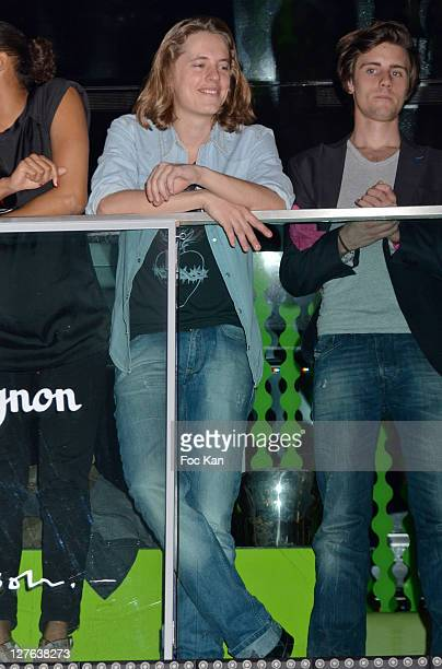 Producer Pierre Sarkozy attends the Laszlo Jones Show Case at VIP Room Theater on April 7 2011 in Paris France