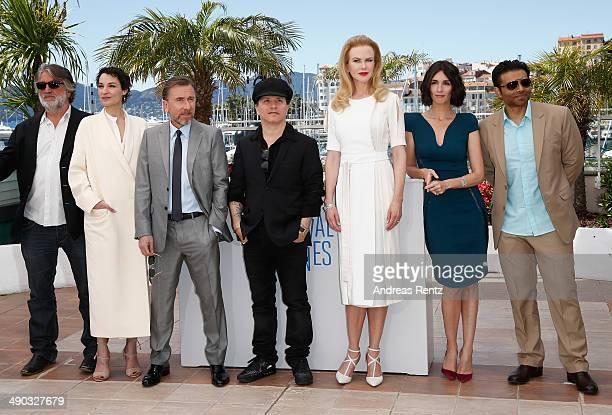 Producer PierreAnge Le Pogam actress Jeanne Balibar director Olivier Dahan actresses Nicole Kidman Paz Vega and screenwriter and producer Uday Chopra...