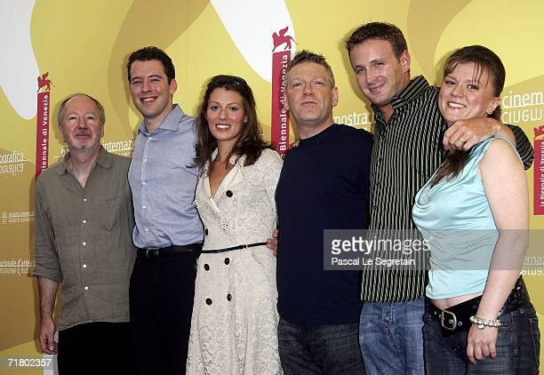 Producer Pierre-Olivier Bardet, actor Joseph Kaiser, actress Amy Carson, director Kenneth Branagh and actors Benjamin Jay Davies and Lyubov Petrova...