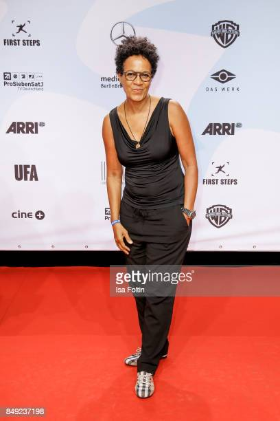 Producer presenter and actress Mo Asumang attends the First Steps Awards 2017 at Stage Theater on September 18 2017 in Berlin Germany