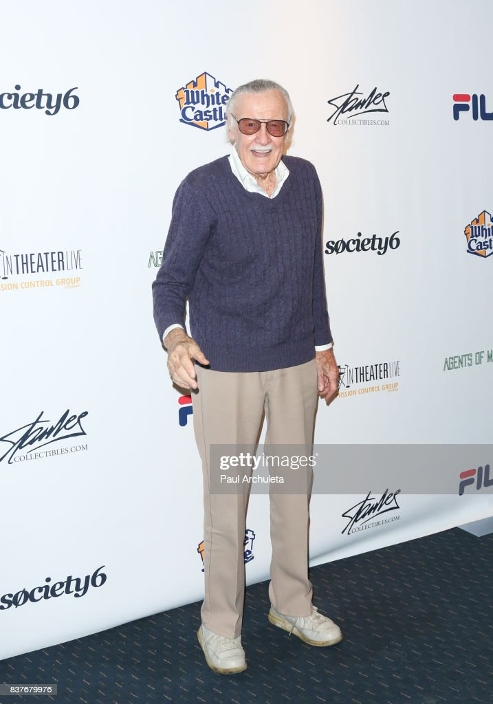 Producer / Publisher Stan Lee attends the 'Extraordinary: Stan Lee' event at The Saban Theatre on August 22, 2017 in Beverly Hills, California.