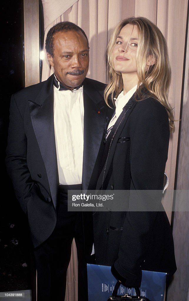Producer Quincy Jones and actress Nastassja Kinski attend ...