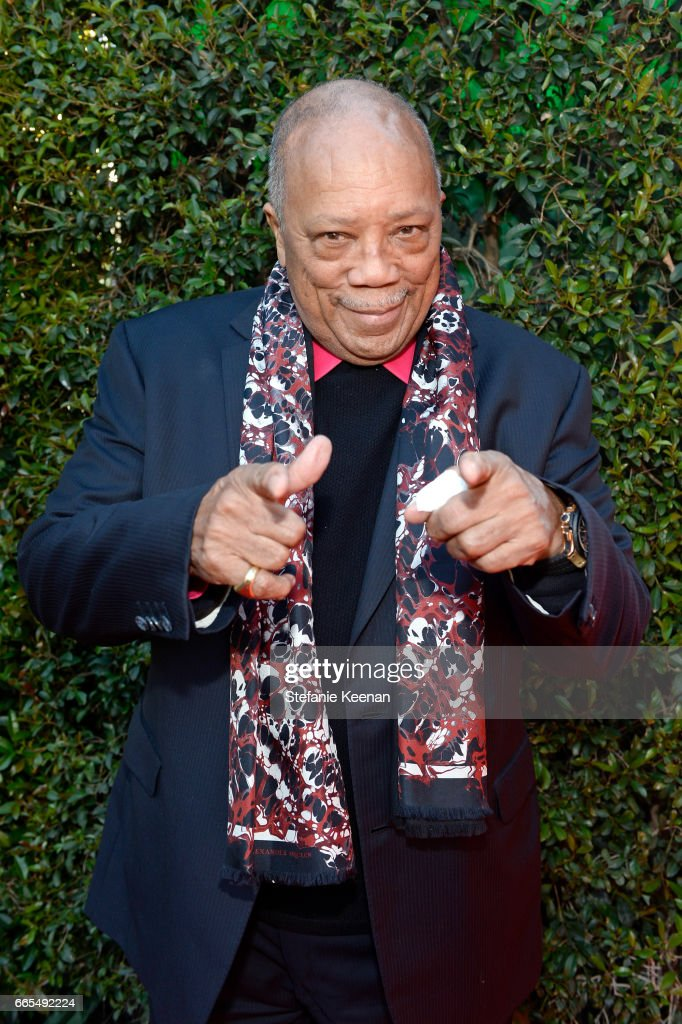 Producer Quincy Jones attends the 50th anniversary screening of 'In the Heat of the Night' during the 2017 TCM Classic Film Festival on April 6, 2017 in Los Angeles, California. 26657_005