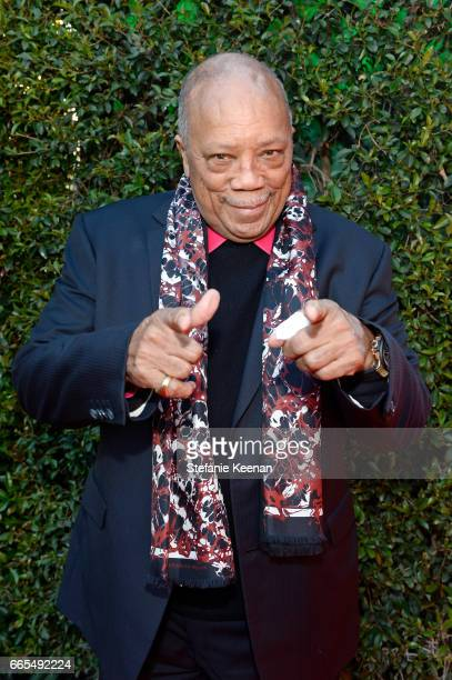 Producer Quincy Jones attends the 50th anniversary screening of 'In the Heat of the Night' during the 2017 TCM Classic Film Festival on April 6 2017...