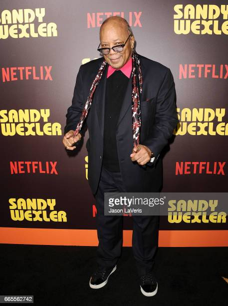 Producer Quincy Jones attends the premiere of 'Sandy Wexler' at ArcLight Cinemas Cinerama Dome on April 6 2017 in Hollywood California