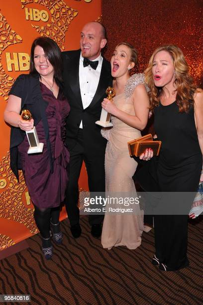 Producer Rachael Horovitz director Director Michael Sucsy actress Drew Barrymore and producer Lucy Barzun Donnelly arrive with her Best Performance...