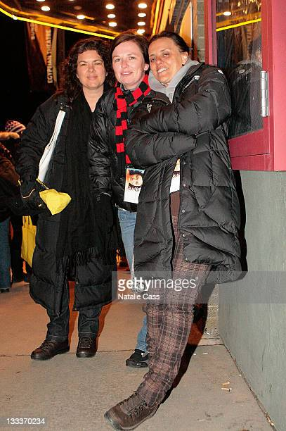 Producer Rachel Lorimer writer Kate McDermott and director Katie Wolfe of This is Her attends the premire of Unmade Beds during the 2009 Sundance...