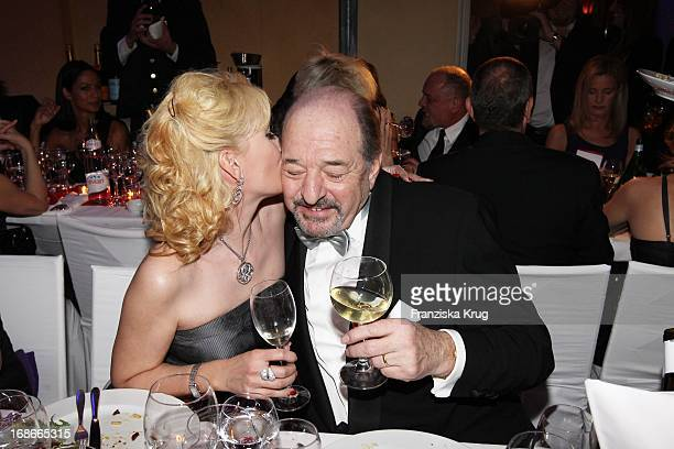 Producer Ralph Siegel and his wife Kriemhild at 37th German Film Ball at Hotel Bayerischer Hof in Munich on 160110