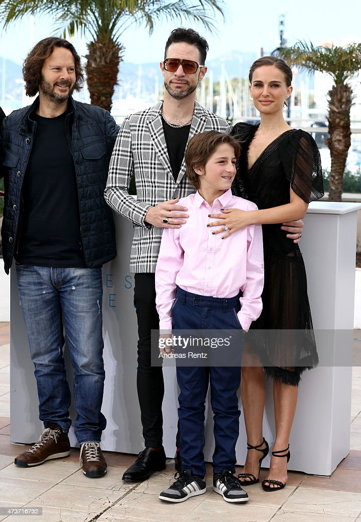 Producer Ram Bergman, actors Gilad Kahana, Amir Tessler and director Natalie Portman attend a photocall for 'A Tale Of Love And Darkness' during the 68th annual Cannes Film Festival on May 17, 2015 in Cannes, France.