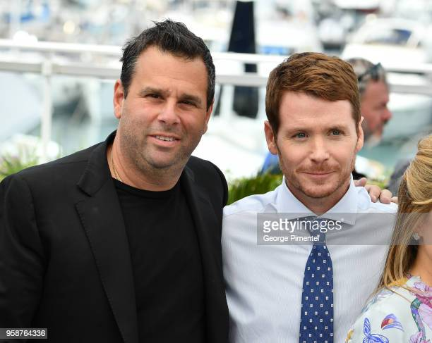 Producer Randall Emmett and Director Kevin Connolly attends the photocall for the Gotti during the 71st annual Cannes Film Festival at Palais des...