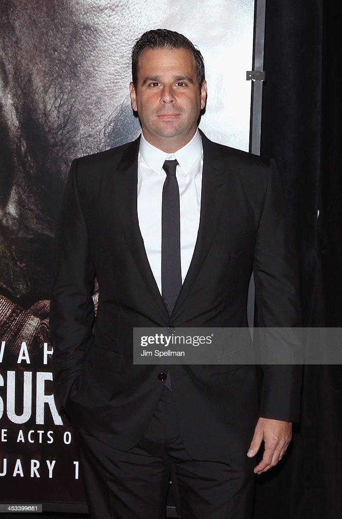 Producer Randall Emmett attends the 'Lone Survivor' New York