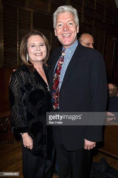Producer Randie Levine-Miller and Tony Sheldon attend Broadway & Cabaret Community SaluteThe Actors' Temple at The Actors Temple on November 26, 2012...