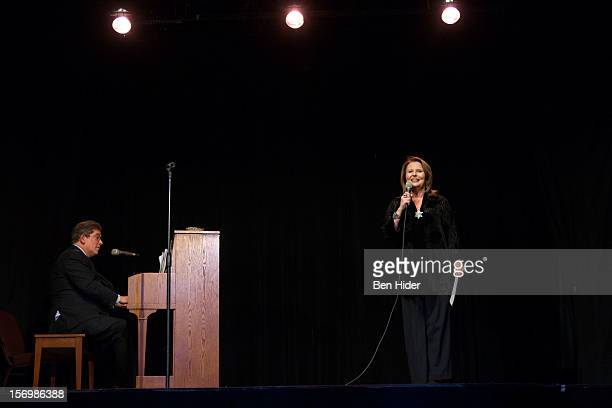 Producer Randie Levine-Miller attends Broadway & Cabaret Community Salute The Actors' Temple at The Actors Temple on November 26, 2012 in New York...